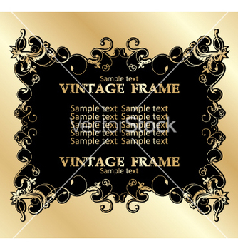 Free vintage frame vector - Free vector #268933