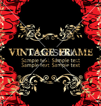 Free vintage frame vector - Free vector #268943