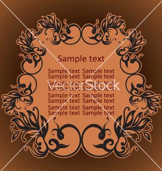 Free vintage frame vector - Free vector #269073