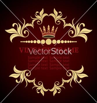 Free vintage frame vector - vector gratuit #269153