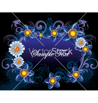 Free flowers background vector - Free vector #269173