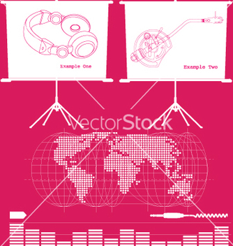 Free music business vector - Free vector #269463