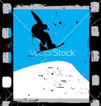 Free snowboard film vector - Kostenloses vector #269593