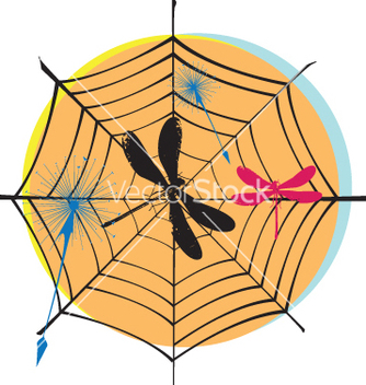 Free spider web vector - бесплатный vector #269603