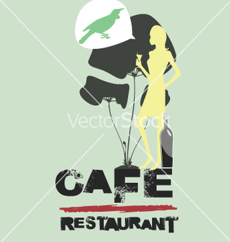 Free cafe restaurant vector - Free vector #269673