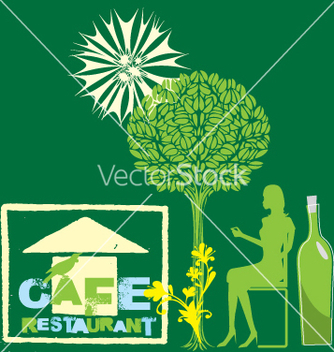 Free cafe nature vector - бесплатный vector #269743