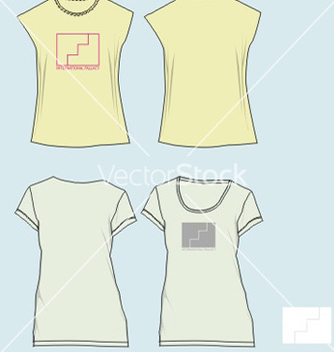 Free girl tees vector - Free vector #269873