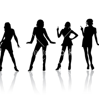 Free sexy girls vector - Free vector #269913