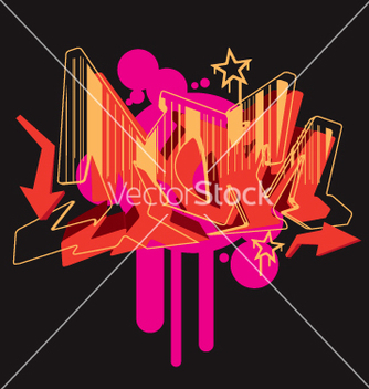 Free graffiti graphic vector - Free vector #270163