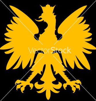 Free heraldry eagle vector - Free vector #270383