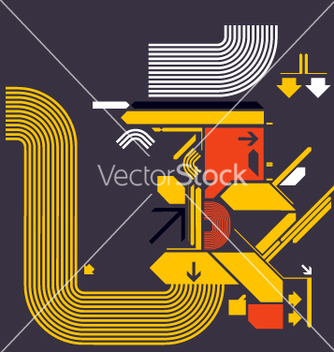 Free modern design shapes vector - vector gratuit #270423