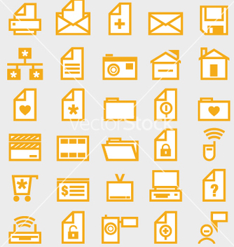 Free web icons vector - Free vector #270633