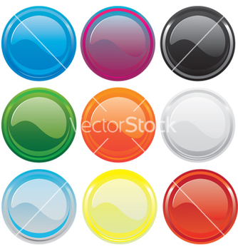 Free gloss buttons vector - Free vector #270653