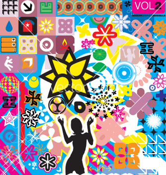 Free modern graphic elements vector - Kostenloses vector #270693