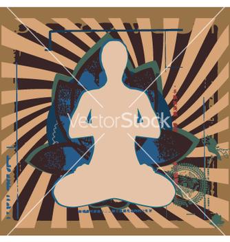 Free yoga zen vector - Kostenloses vector #270923