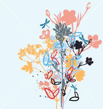 Free wild flowers vector - Kostenloses vector #270973