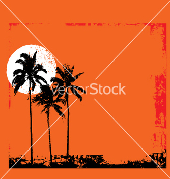 Free tropical grunge vector - Free vector #271013