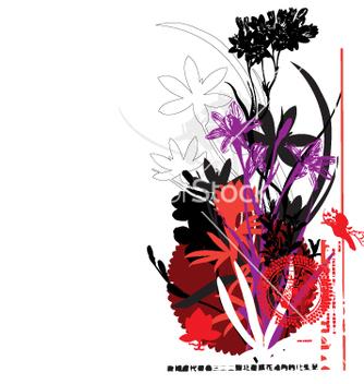 Free oriental flower vector - Kostenloses vector #271143