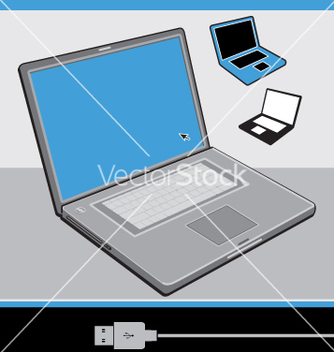 Free laptop vector - бесплатный vector #271203