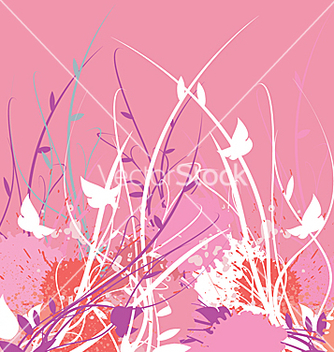 Free floral vine garden vector - Free vector #271373