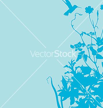 Free floral garden graphic frame vector - бесплатный vector #271383