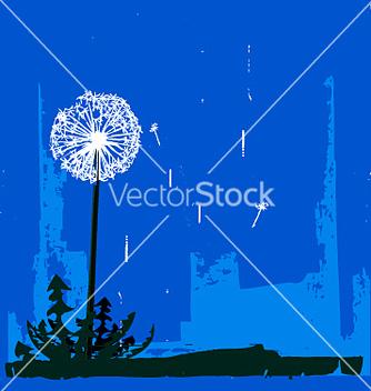 Free dandelion vector - vector gratuit #271443