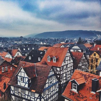 View of colorful architecture of Marburg, Germany - бесплатный image #271673