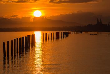 Golden sunset - image #271863 gratis