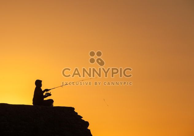 Silhouette at sunset - Free image #271873