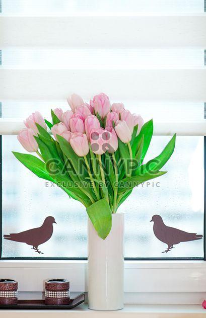 Bouquet von Rosa Tulpen - Kostenloses image #272583