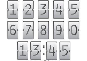 Numeric Scoreboard Vector - Kostenloses vector #272853