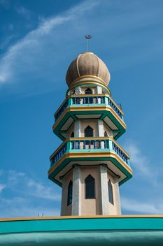Mosque minaret - Free image #273053