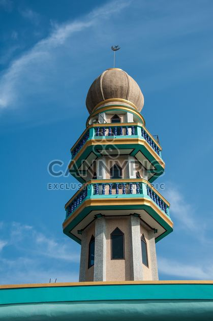 Minarett der Moschee - Kostenloses image #273053