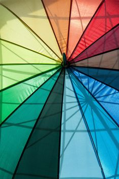 Rainbow umbrellas - image #273133 gratis