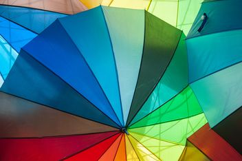 Rainbow umbrellas - image gratuit #273143