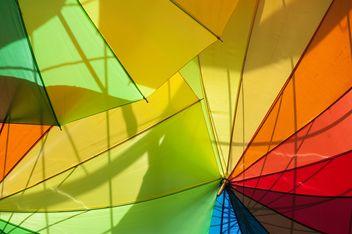 Rainbow umbrellas - image #273153 gratis