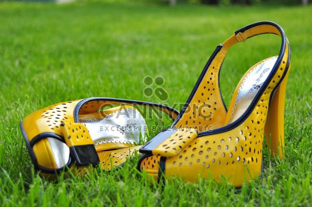 Jaune chaussures femme - Free image #273193
