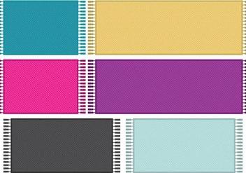 Chevron Pixel Rugs - Kostenloses vector #273273