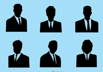 Business Man Icons - Free vector #273403