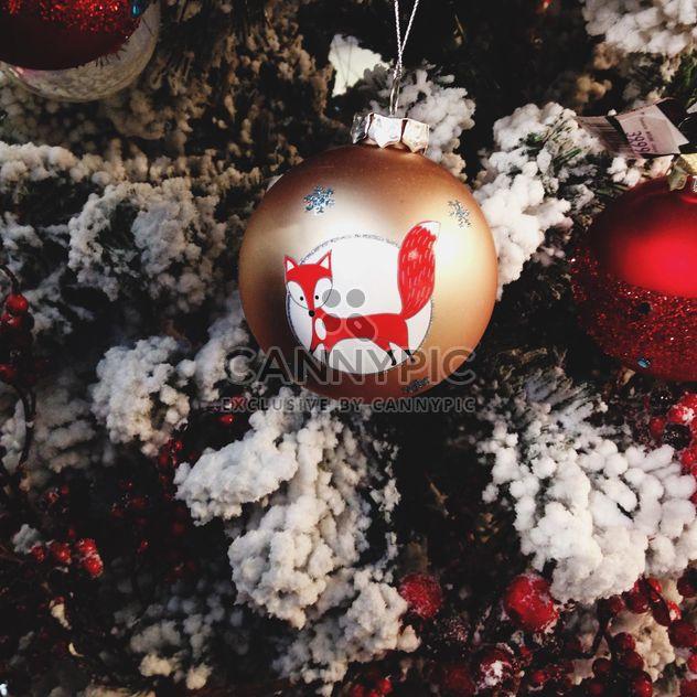 Decoração da árvore de Natal - Free image #273843