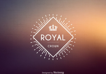Free Vintage Crown Logo Vector - Free vector #274033