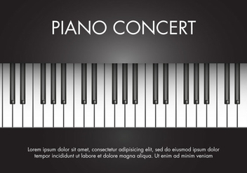 Free Classic Music Piano Vector - Free vector #274283