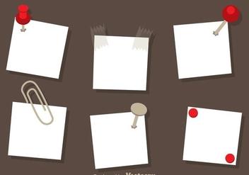 Paper Note Vectors - Free vector #274373