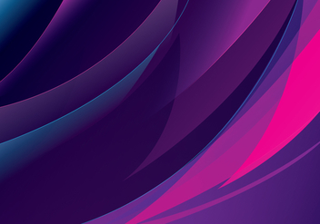 Purple Abstract Vector - Free vector #274743