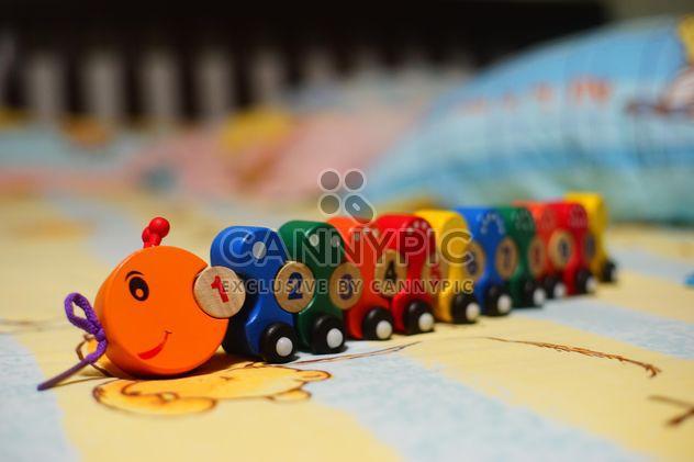 #Caterpillar #train, números de 1 a 10, brinquedos de madeira. #mylastphoto?? - Free image #274783