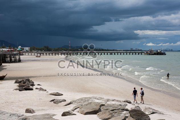 Mens sur la plage - image gratuit #275083