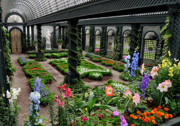 French Garden at Duke Farms - image gratuit #278293