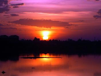 Sunset @ Adyar: - image gratuit #278553