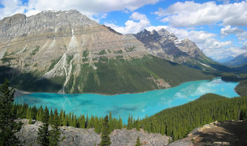 Nature - Peyto Lake, Banff National Park, Canada - Kostenloses image #279973