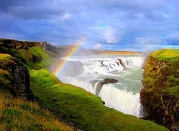Gullfoss waterfall - Iceland - Free image #280393